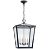 Darlana Medium Hanging Lantern - Luxury Lighting By Greige