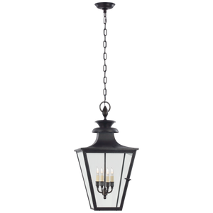 Albermarle Medium Hanging Lantern - Luxury Lighting By Greige