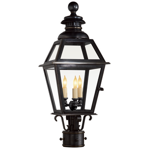Chelsea Medium Post Lantern - Luxury Lighting By Greige