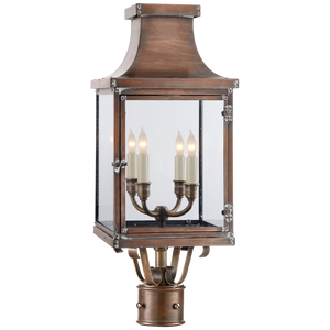 Bedfor Post Lantern - Luxury Lighting By Greige