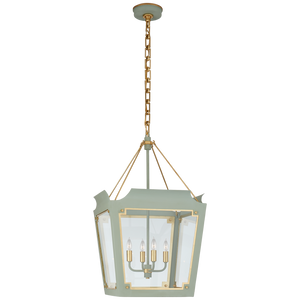 Caddo Medium Lantern - Luxury Lighting By Greige