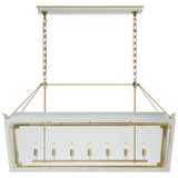 Caddo Large Linear Lantern - Luxury Lighting By Greige