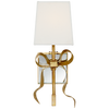 Ellery Gros-Grain Bow Small Sconce - Luxury Lighting By Greige