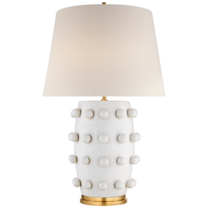 Linden Medium Lamp - Luxury Lighting By Greige