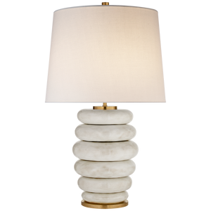 Phoebe Stacked Table Lamp - Luxury Lighting By Greige