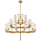 Liaison Triple Tier Chandelier - Luxury Lighting By Greige
