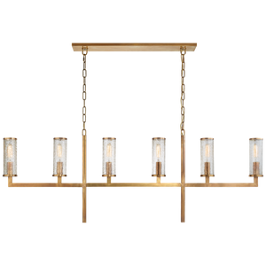 Liaison Large Linear Chandelier - Luxury Lighting By Greige