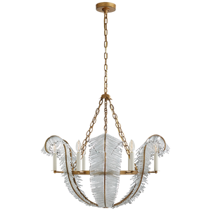 "Calais 34"" Chandelier - Luxury Lighting By Greige"