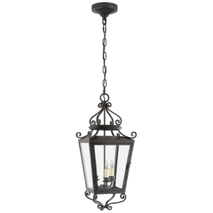 Lafayette Medium Hanging Lantern - Luxury Lighting By Greige