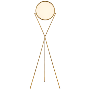"Dot Stance 13"" Rotating Floor Lamp - Luxury Lighting By Greige"