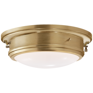 Marine Porthole Medium Flush Mount - Luxury Lighting By Greige