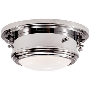 Marine Porthole Small Flush Mount - Luxury Lighting By Greige