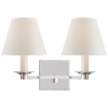 Evans Double Arm Sconce - Luxury Lighting By Greige