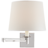 Evans Swing Arm Sconce - Luxury Lighting By Greige