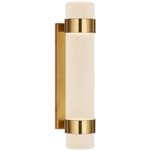 Barton Small Bath Sconce - Luxury Lighting By Greige