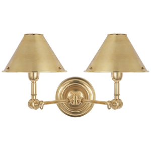Anette Double Sconce - Luxury Lighting By Greige