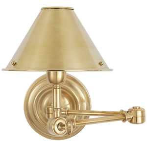 Anette Swing Arm Sconce - Luxury Lighting By Greige