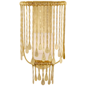 Kayla Medium Sculpted Sconce - Luxury Lighting By Greige