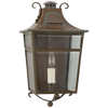 Carrington Small Wall Lantern - Luxury Lighting By Greige