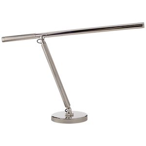 Barrett Knurled Boom Arm Desk Light - Luxury Lighting By Greige