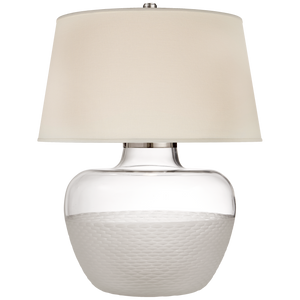 Cagan Small Table Lamp - Luxury Lighting By Greige