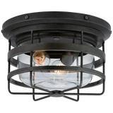 Crosby Flush Mount - Luxury Lighting By Greige