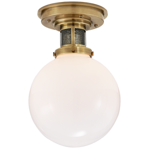 McCarren Small Flush Mount - Luxury Lighting By Greige