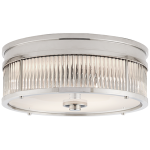 Allen Small Round Flush Mount - Luxury Lighting By Greige