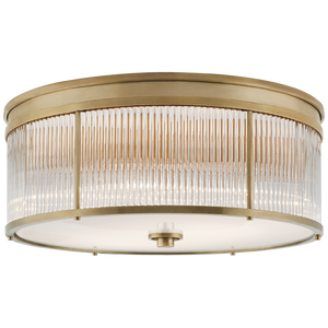 Allen Large Round Flush Mount - Luxury Lighting By Greige