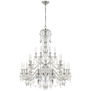 Daniela Twenty Four-Light Chandelier - Luxury Lighting By Greige