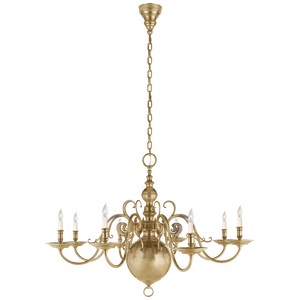 Lillianne Single Tier Chandelier - Luxury Lighting By Greige
