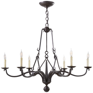 Allegra Medium Chandelier - Luxury Lighting By Greige