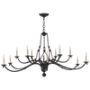 Allegra Large Two-Tiered Chandelier - Luxury Lighting By Greige