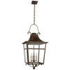 Carrington Large Lantern - Luxury Lighting By Greige