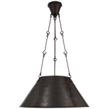 Naomi Hand-Forged Hanging Shade - Luxury Lighting By Greige