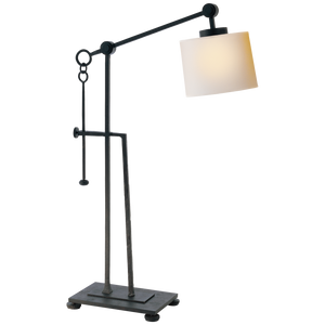 Aspen Forged Iron Table Lamp - Luxury Lighting By Greige
