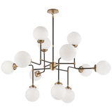 Bistro Medium Chandelier - Luxury Lighting By Greige