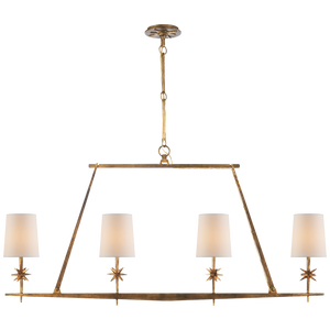 Etoile Linear Chandelier - Luxury Lighting By Greige