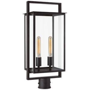 Halle Medium Post Lantern - Luxury Lighting By Greige