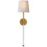 Camille Large Tail Sconce - Luxury Lighting By Greige