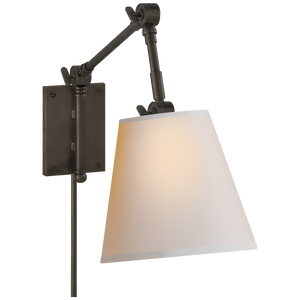 Graves Pivoting Sconce - Luxury Lighting By Greige