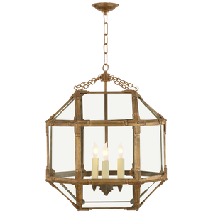 Morris Medium Lantern - Luxury Lighting By Greige