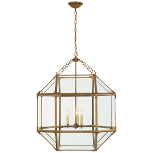 Morris Large Lantern - Luxury Lighting By Greige