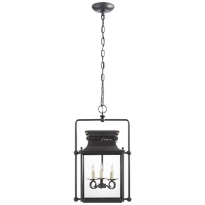 Honore Medium Square Frame Lantern - Luxury Lighting By Greige