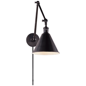 Boston Functional Double Arm Library Light - Luxury Lighting By Greige