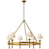 Classic Ring Chandelier - Luxury Lighting By Greige