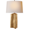 Sierra Buffet Lamp in Gild with Natural Paper Shade