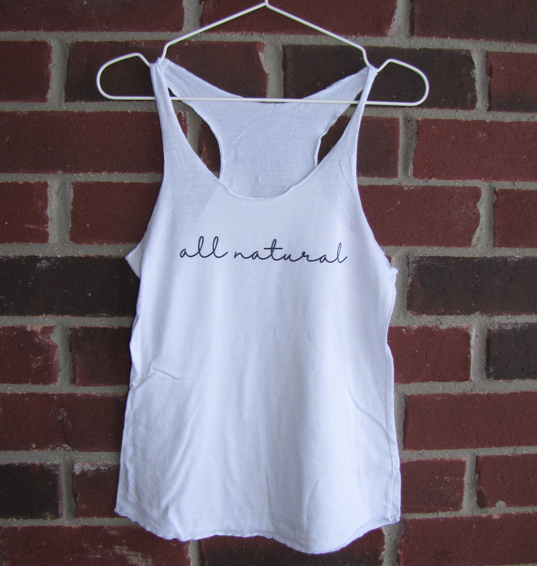 All Natural Tank Top (White)