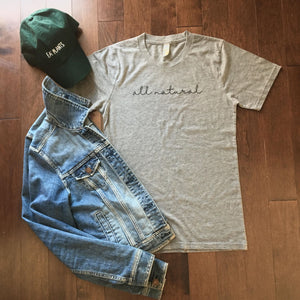 All Natural T-Shirt (Grey)