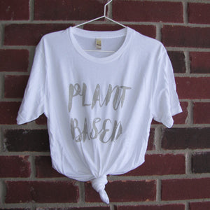 Plant Based T-Shirt (White)